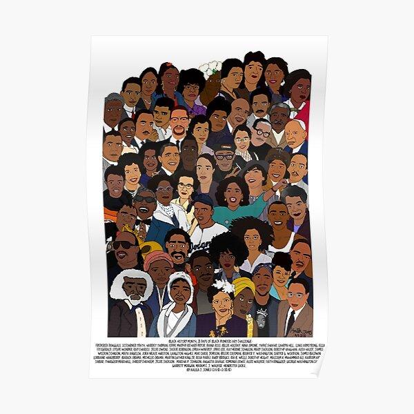Black Pioneers Poster