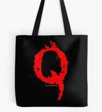 Qanon - Great Awakening - Fire Tote Bag