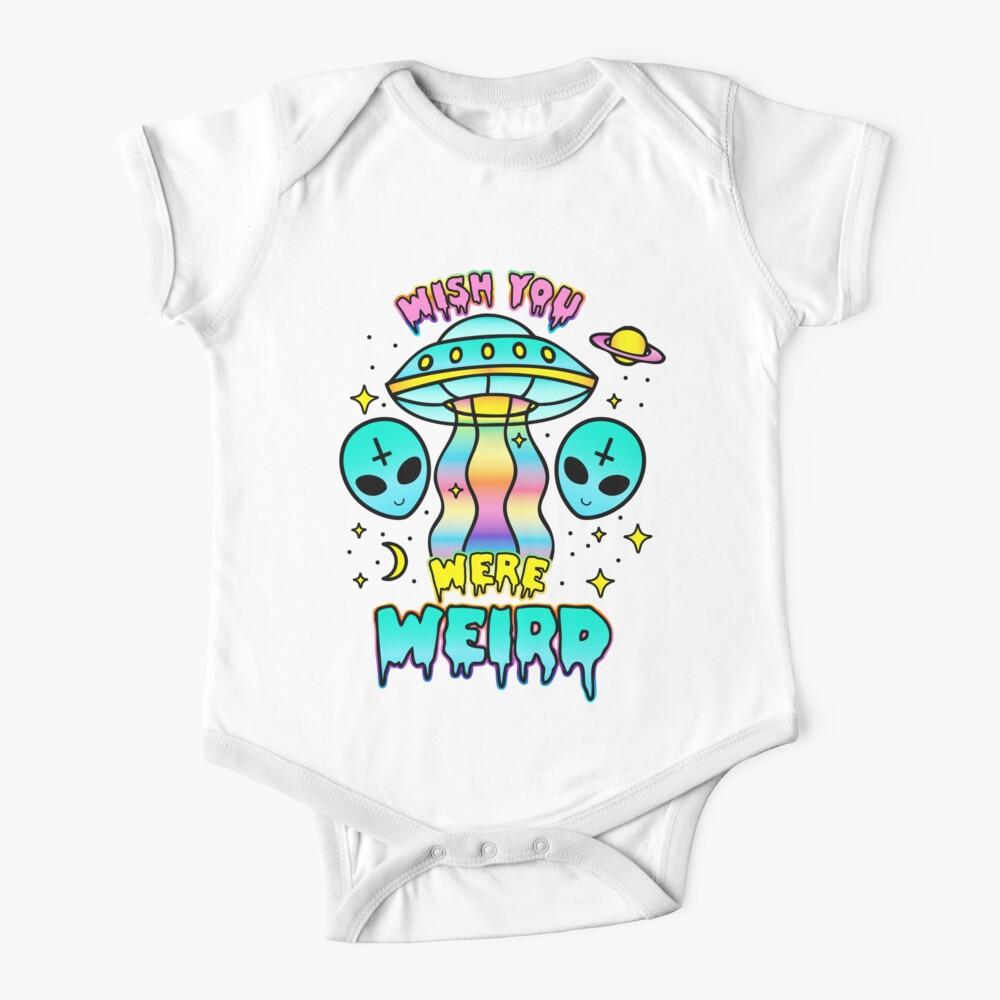 Wish You Were Weird Baby One-Piece