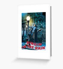 SINGIN IN THE RAIN Greeting Card