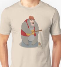 Big Al, The Country Bear Slim Fit T-Shirt
