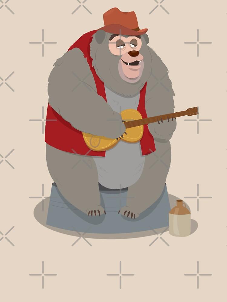 Big Al, The Country Bear de LivelyLexie