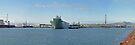 HMAS Canberra leaving Port of Townsville NQ by Paul Gilbert