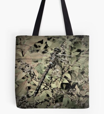 Dragonfly In Hiding Tote Bag