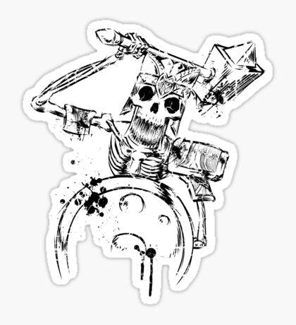 The Cursed Ones - Warrior _black Sticker