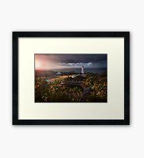 Beautiful Morning Light Over Cape Schanck Framed Print