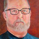 Self Portrait in Oil by Troy Brown