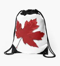 Maple Leaf Drawstring Bag