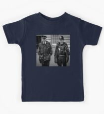 English Police Officers Kids Tee