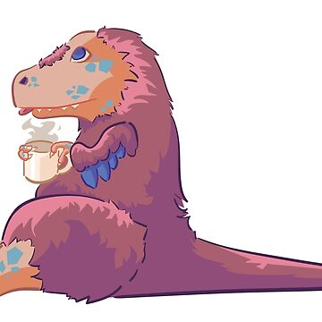 Tea-Rex by musebait