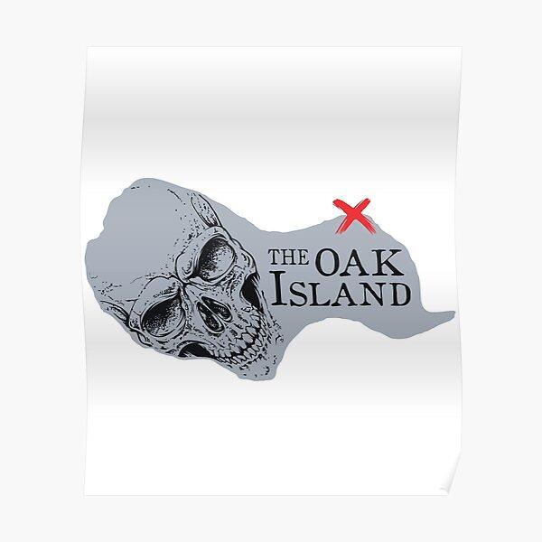 Oak Island Shirt Poster