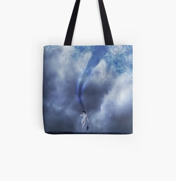Crafting Thought All Over Print Tote Bag