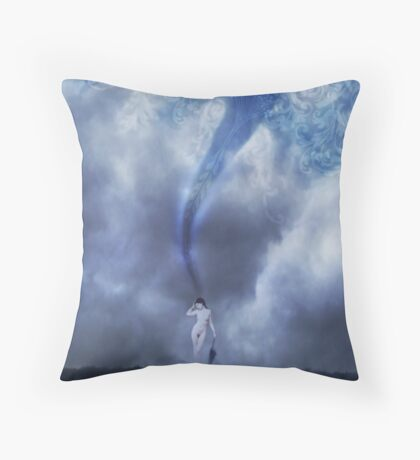 Crafting Thought Throw Pillow