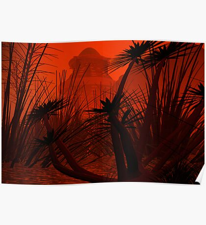 A SWAMP IN A REMOTE REGION OF ARGONA Poster