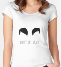 Dan and Phil CRAFTS Women's Fitted Scoop T-Shirt