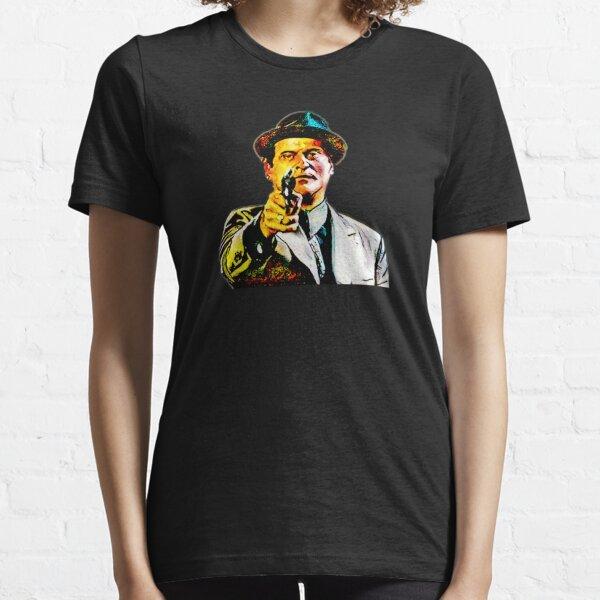 Joe Pesci mafia gangster movie Goodfellas painting yellow Essential T-Shirt