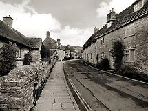 West Street Corfe Castle Dorset by Yampimon