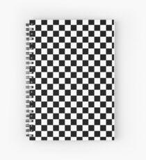 checker Spiral Notebook