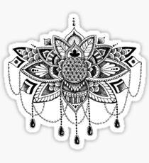Chandelier Lotus Sticker