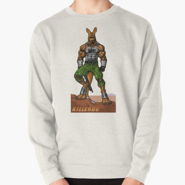 Killeroo by Dan Gibbs Pullover Sweatshirt