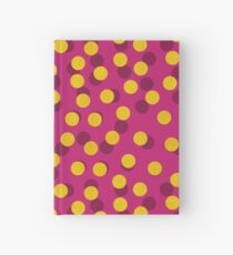 Gold Spotty Dots Hardcover Journal