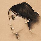 Virginia Woolf by Kaitlin Beckett