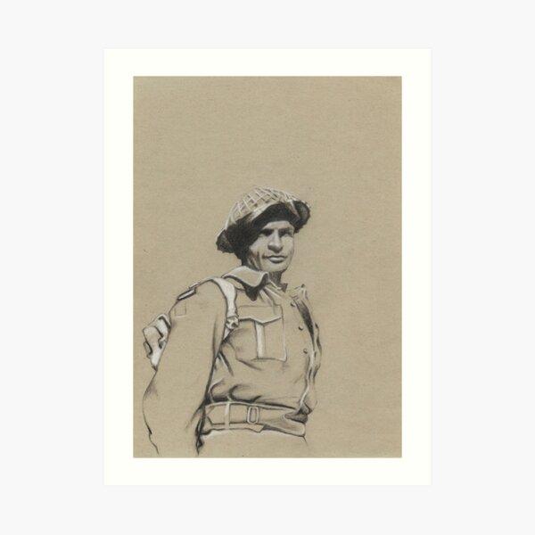 Charles Upham VC and Bar Art Print