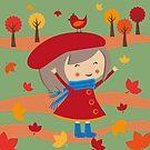 Happy Meitlis - Herbstzauber von WACHtraum