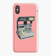 polaroid camera retro 90s iPhone Case