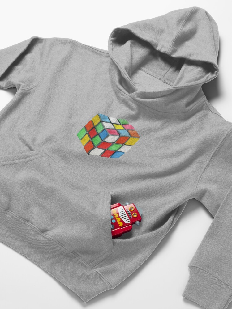 Alternate view of rubic cube  Kids Pullover Hoodie
