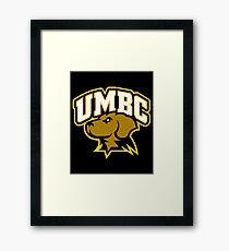 UMBC Retrievers Framed Print