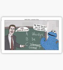 Sesame Street + Glengarry Glen Ross Sticker