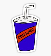 Consume - Soda Design Sticker