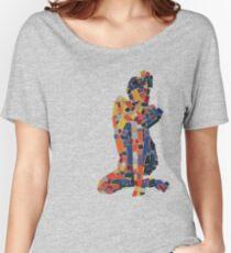 Mosiac Figure Women's Relaxed Fit T-Shirt