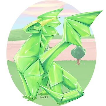 Crystal Dragon by BlazeTFD