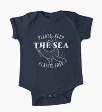 Bitte bewahren Sie die Sea Plastic Free - Seal Baby Body Kurzarm