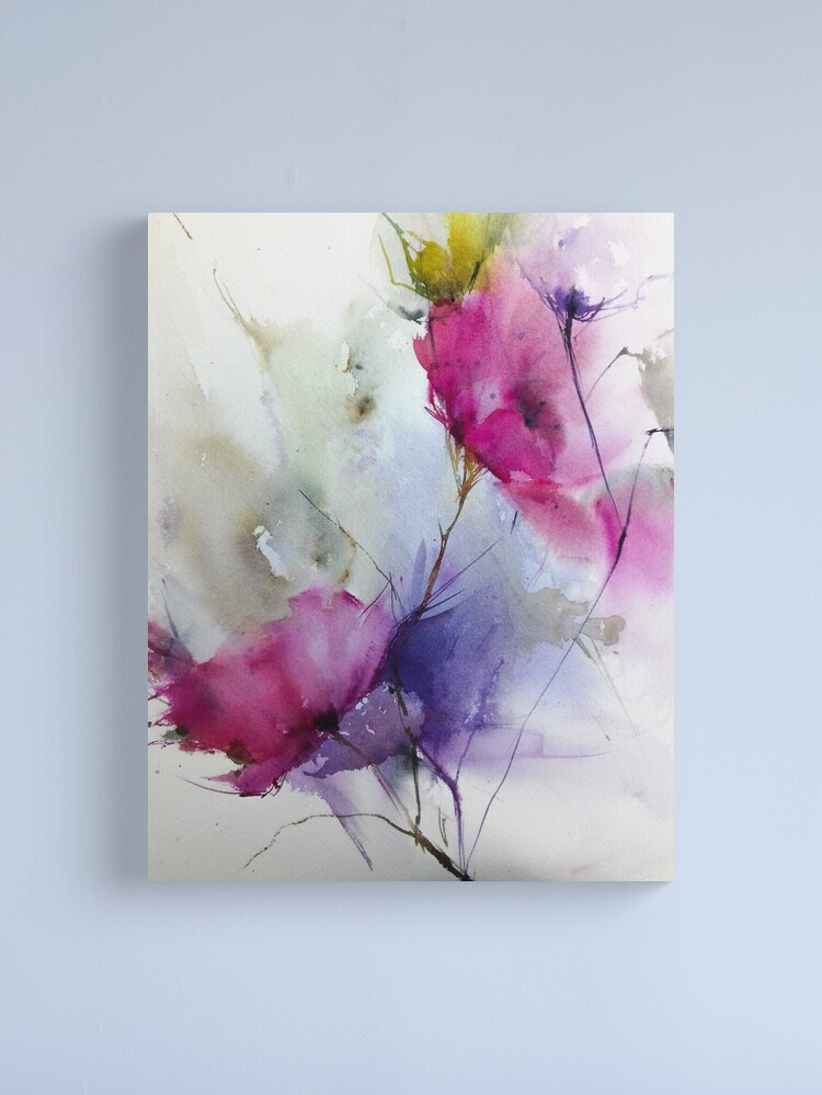 Alternate view of watercolor2 Canvas Print