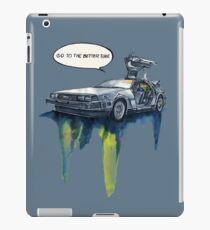 DMC - back to the future iPad Case/Skin