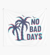 NO BAD DAYS VINTAGE, BY SUBGIRL Wall Tapestry