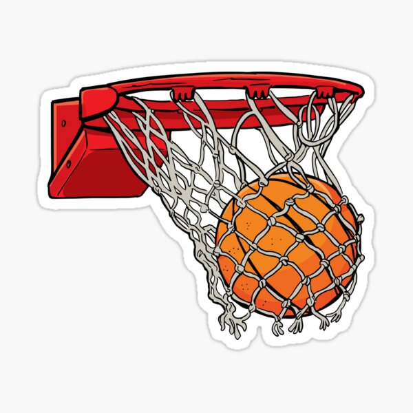 basket ball  Sticker
