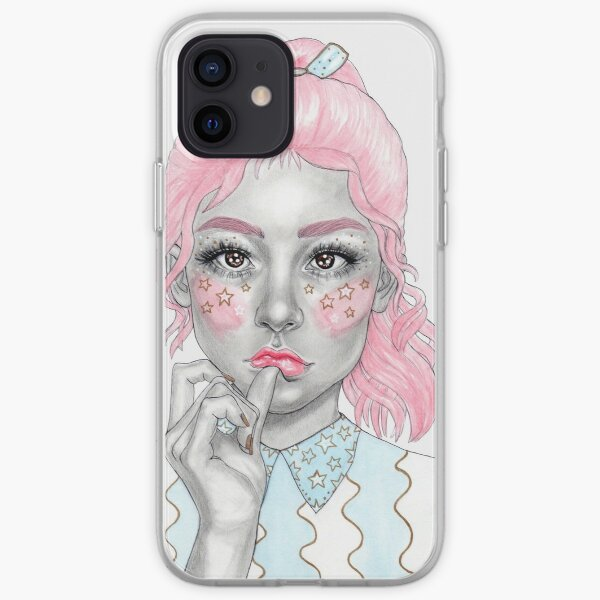 Pastel girl iPhone Soft Case