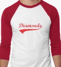 Diamonds Men's Baseball ¾ T-Shirt