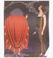 Vintage George Barbier -  La Voie Lactee Art Deco Poster