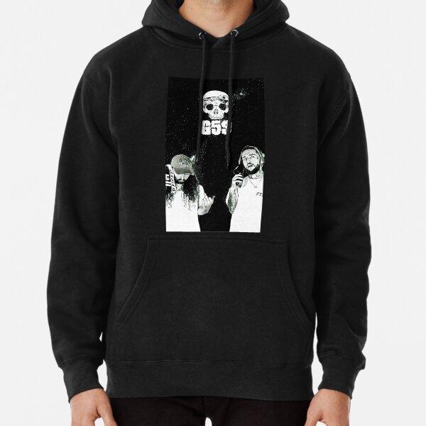 Suicideboys G59 Black & White Space Design Sudadera con capucha