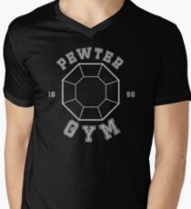 Pokemon - Pewter City Gym Men's V-Neck T-Shirt