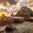 Sugarloaf Rock Sunset by Peter Rattigan