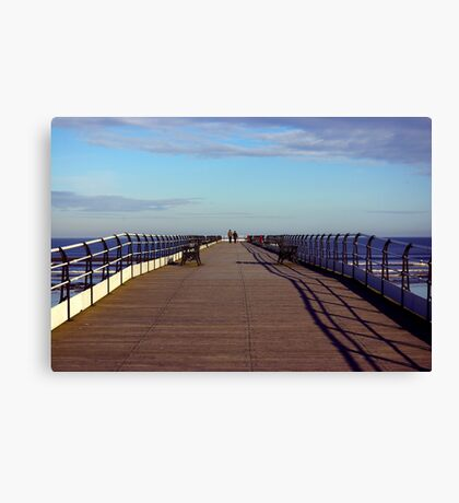 The Long Walk Canvas Print