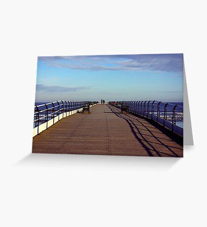 The Long Walk Greeting Card