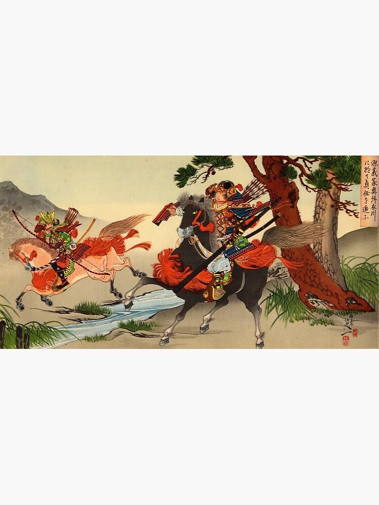 Samurai on horseback by Fletchsan