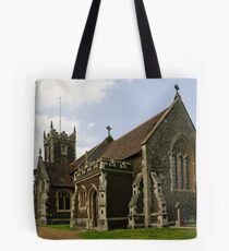 Royal Sandringham Church Tote Bag